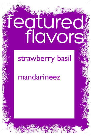 Featured Geauxsicles Flavors for July 2013